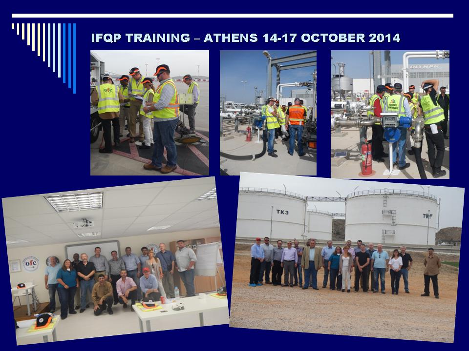IFQP TRAINING ATHENS 14 17 OCTOBER 2014